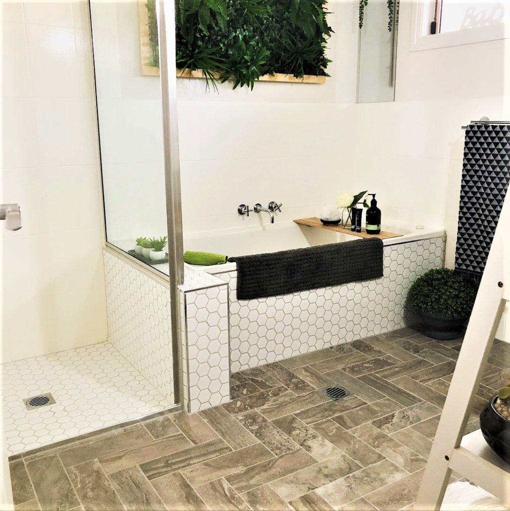 Bathroom Makeover take 2 – make the most of your life